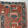 Carpet. antique heriz. 431,5 x 301 cm.