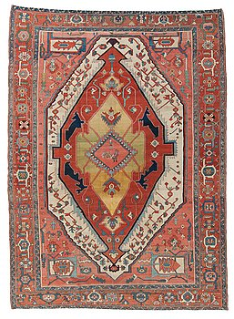806. CARPET. Antique Heriz. 431,5 x 301 cm.