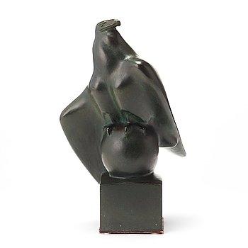 """956. Carl Milles, """"Örn på glob"""" (= Eagle on a globe)."""