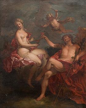 OKÄND KONSTNÄR 1700-TAL, BACCHUS, CERES OCH AMOR.