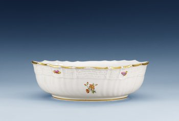 1181. A bowl, Imperial porcelain manufactory, St Petersburg, period of Nicholas I (1825-55).
