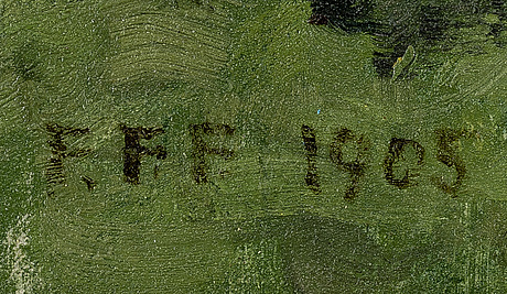 Felix frang-pahlama, vehreÄ maisema.