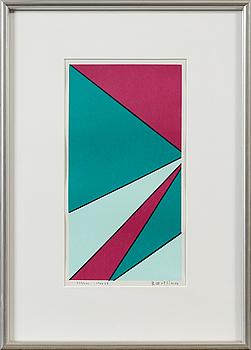 OLLE BAERTLING, OLLE BAERTLING, serigrafi, signerad, daterad 1966-68 och numrerad 223/300.