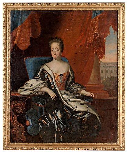 """David von krafft """"riksänkedrottning hedvig eleonora"""" (1636 1715)"""