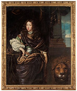 """235. DAVID KLÖCKER EHRENSTRAHL, """"Konung Karl XI"""" (1655-1697)."""