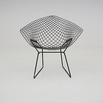 "HARRY BERTOIA, HARRY BERTOIA, fåtölj ""Diamond Chair"", 1900-talets andra hälft."
