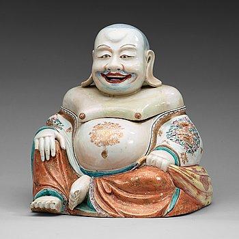 207. TERRIN med LOCK, kompaniporslin. Qing dynastin, Qianlong (1736-95).