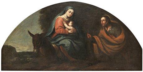Jacopo bassano hans art frambärandet i templet samt vilan vid flykten till