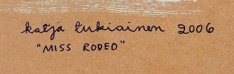 """Katja tukiainen, """"miss rodeo"""""""