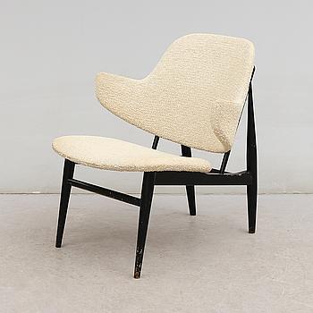 "FÅTÖLJ, ""Shell Chair"", Ib Kofod Larsen, Danmark, 1960-tal."