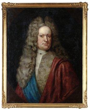 """230. DAVID RICHTER D Ä Tillskriven. """"Jesper Ehrencreutz"""" (1648-1722)"""