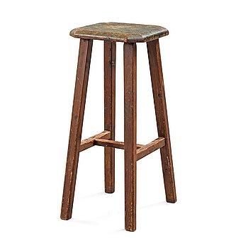 407. Richard Bergh, Richard Bergh's artist stool.