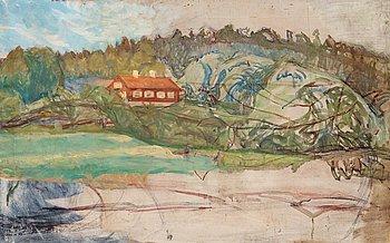 413. Richard Bergh, Landscape Tyresö.