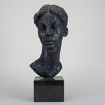 LISS ERIKSSON, skulptur, patinerad brons, numrerad 3/8.