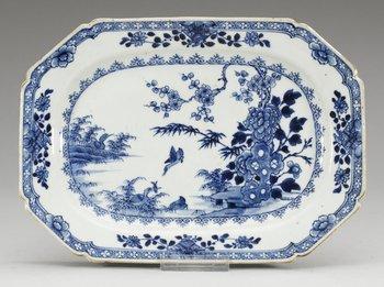 10. STEKFAT, kompaniporslin. Qing dynastin, Qianlong (1736-95).