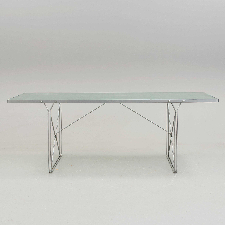 "ikea, bord, ""moment"", formgiven 1985 av niels gammelgaard. - bukowskis"