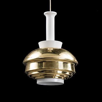 ALVAR AALTO, PENDANT LAMP, No. A 335. Manufactured by Valaisinpaja. 1970/80s.