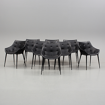 """PHILIPPE STARCK, stolar, 8 st, """"Passion Chair"""", Cassina, 2000-tal."""