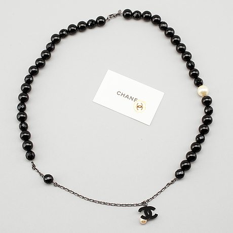 Collier, chanel.