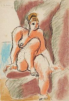 166. Le Corbusier, Modell.