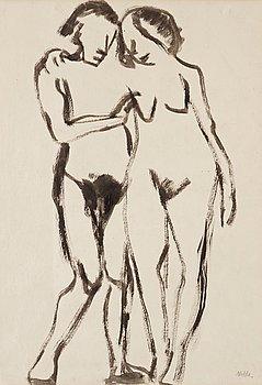 167. Emil Nolde, Nakna figurer.