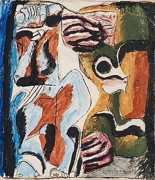 161. Le Corbusier, Komposition.