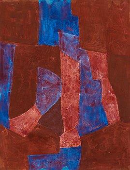 """162. Serge Poliakoff, """"Bleue, violet et rouge""""."""