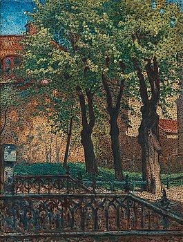 """645. Nils Kreuger, """"Från Maria kyrkogård""""."""