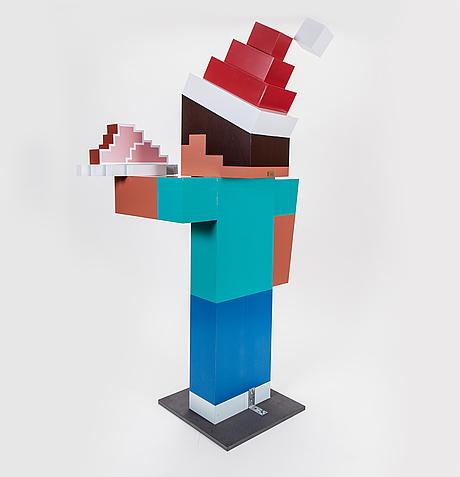 Minecraft steve, nk 2015, joann tan studio.