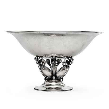 Gundorph albertus, a gundorph albertus sterling bowl, georg jensen, copenhagen 1925-32, design 468 b.