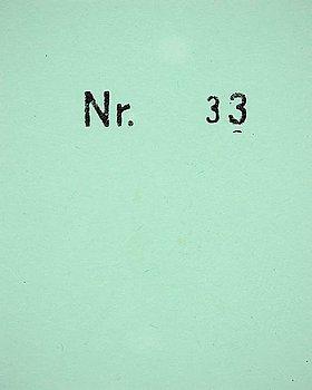 """6. DAWID (BJÖRN DAWIDSSON), """"#B 33"""", 2010."""