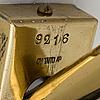 Paavo tynell, bordslampa. tillverkad av taito oy, 1940 tal