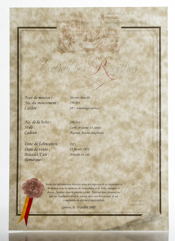 La Boite Jaune Prix patek, philippe & co, geneve, wristwatch, ca 20 mm, - bukowskis