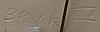 Rut bryk, keramikrelief. sign. bryk iii. arabia sent 1950 tal