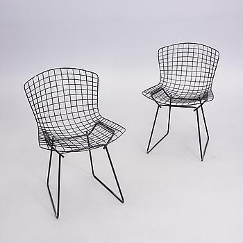 "HARRY BERTOIA, HARRY BERTOIA, stolar, ett par, ""Sidechair"", 1960-tal."