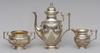 Kaffeservis , 3 delar, silver, 1903.