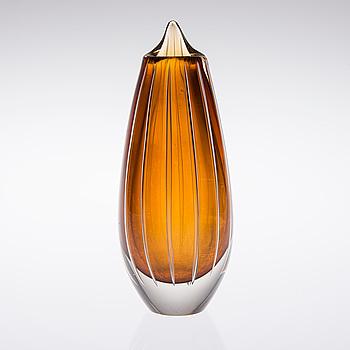 ARMANDO JACOBINO, VAS, glas, modell 2514 / 4405, signerad A. Jacobino, Kumela, 1960-70-tal.