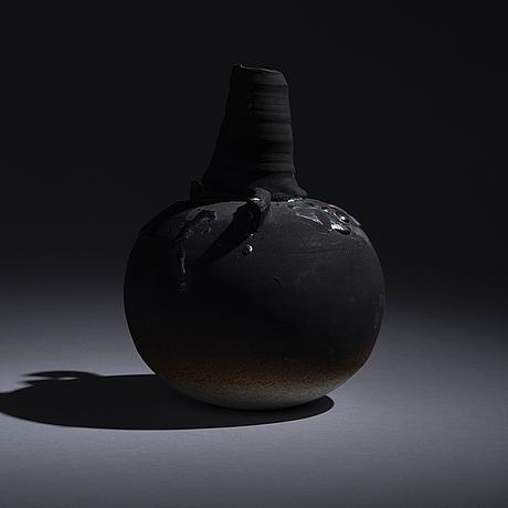 Pekka paikkari, keramikskulptur. arabia, 1985