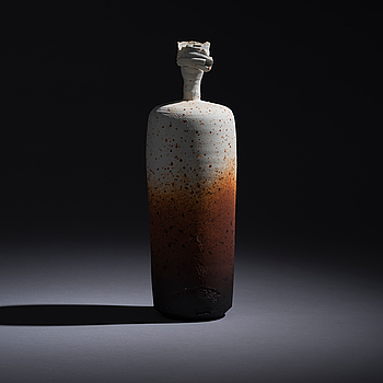 PEKKA PAIKKARI, A CERAMIC SCULPTURE. Arabia, 1985.