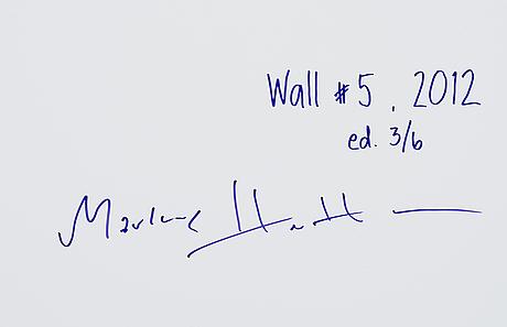 "Markus henttonen, ""wall #5"""