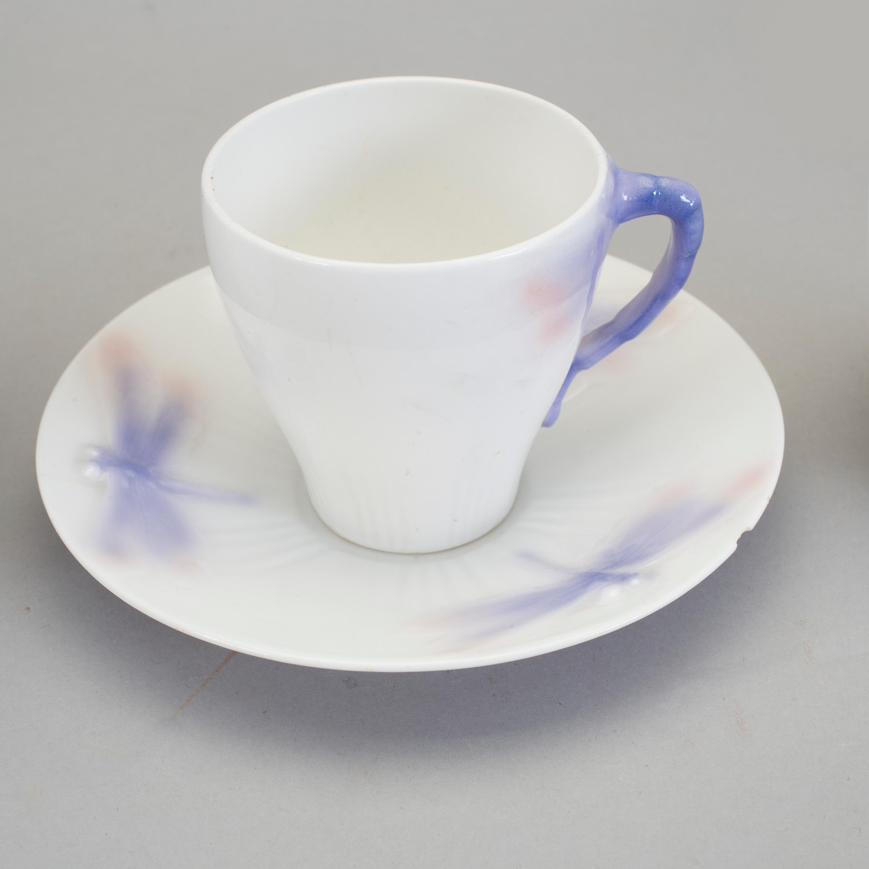 A 8 part Feldspar porcelain coffee service designed by Alf