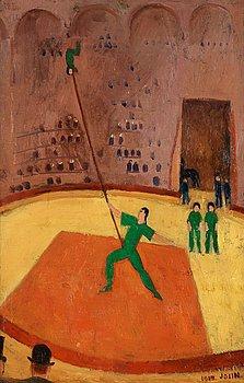 18. EINAR JOLIN, In the circus.