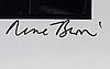 """RenÉ burri, """"studio yves klein, paris, 1961"""""""