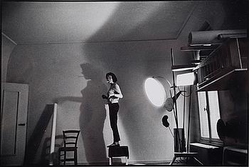 """RENÉ BURRI, """"STUDIO YVES KLEIN, PARIS, 1961""""."""