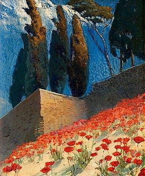 1. ALF WALLANDER, Sydfranskt landskap.