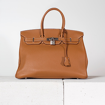 """VÄSKA, """"Birkin 35"""", Hermès, 2011."""
