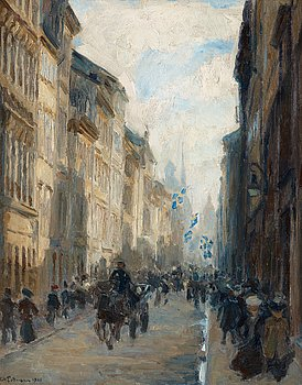"""641. Axel Erdmann, """"Drottninggatan""""."""