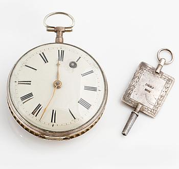 CARL E. DAHLGREN (1791-1870), Trollhättan, pocket watch, 52 mm,