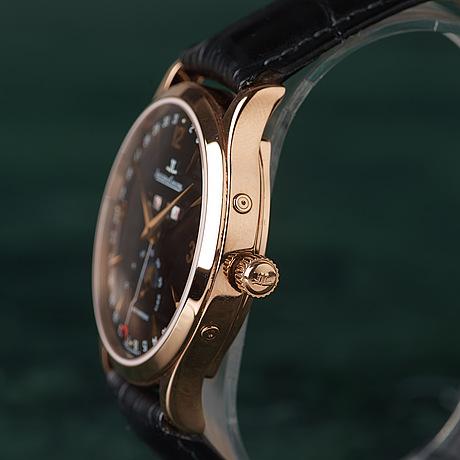 Jaeger-lecoultre, master moon, armbandsur, 37 mm,
