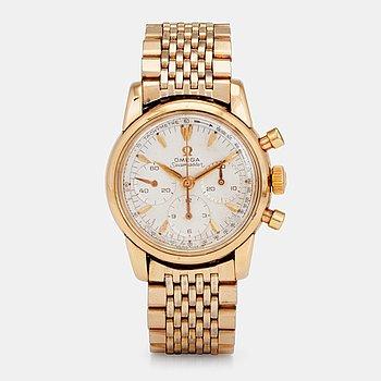 "960. Omega, OMEGA, Seamaster, ""Tachymetre"", chronograph, wristwatch, 34 mm,"